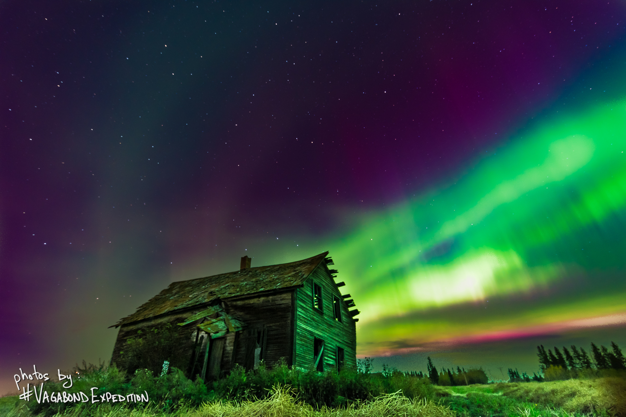 Aurora and the the Old Home