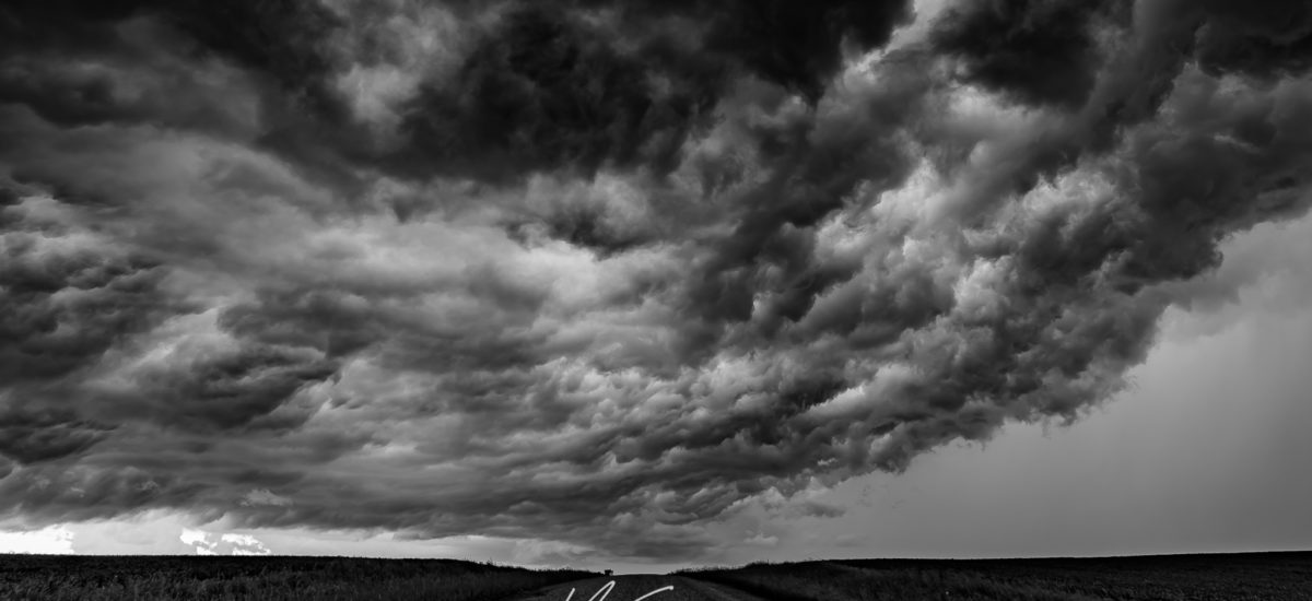 BnW Storm Clouds